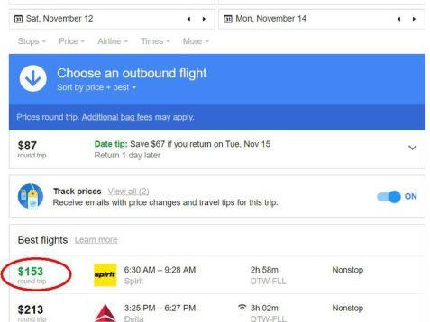 google-flights-best-price